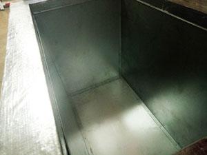 Термоконтейнер Вармбокс ППУ 480 литров фольгированный